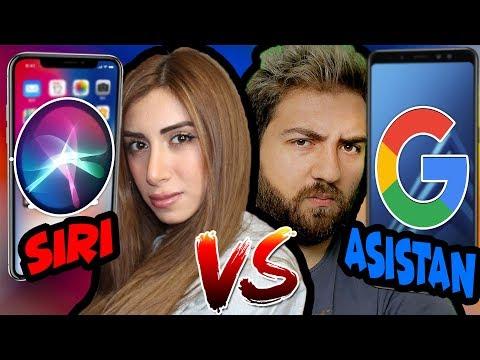 Siri vs Google Asistan   HANGİSİ DAHA İYİ YARDIMCI ?