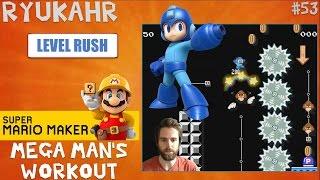 Mega Man's 90 Second Workout!   Super Mario Maker   Level Reaction Ep. 53