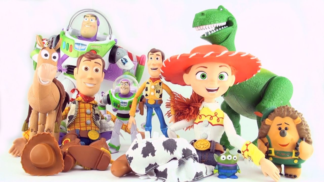 Learn left hand from right hand with Toy Story Characters ...