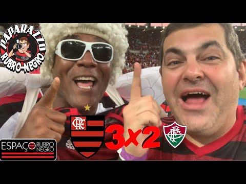 Pós-Jogo: Flamengo 3x2 Fluminense! Direto do Maracanã! Imagens da Arquibancada no Paparazzo II!