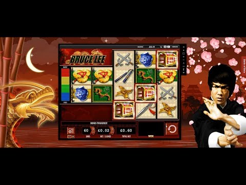 ALMOST LOST BALANCE! BRUCE LEE FOR THE RESCUE HUGE WIN VIDEOSLOTS CASINO