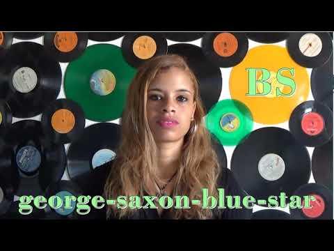 George Saxon  blue star