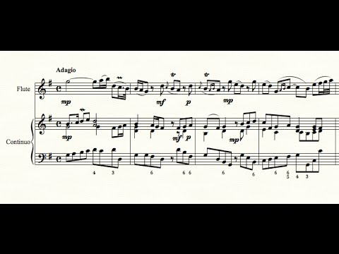 Handel -  Sonata in G Major for flute and continuo