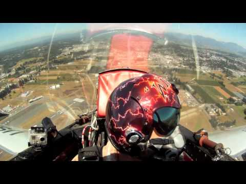 Canadair CT-33 T-33 In Cockpit at Abbotsford Airshow DVD Preview