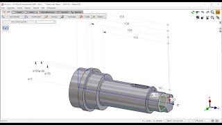 GO2cam 2D CAD Teil 2 - Handhabung der Konstruktionsbefehle im Drehumfeld mit dem Wellengenerator
