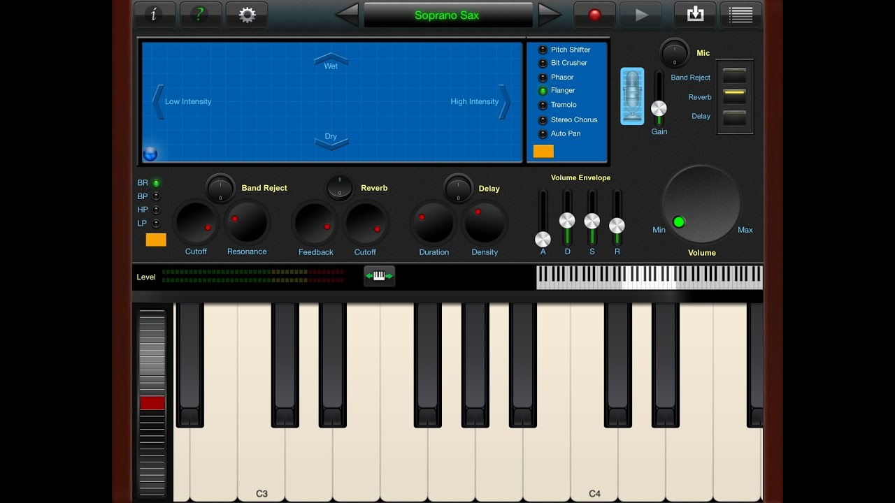 SoundFont Pro Demo and Tutorial for iPad