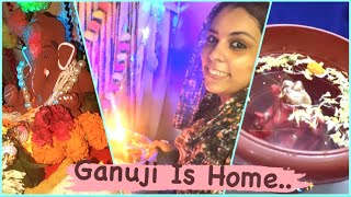Our Eco-Friendly GanpatiJi || VLOG || Fitness And Lifestyle Channel