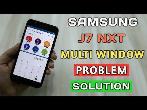 How To Use Multi Window In J7 Nxt After Pie Update | J7 Nxt Multi Window Feature