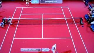 Virtua Tennis 3: Xbox Live Ranked Match