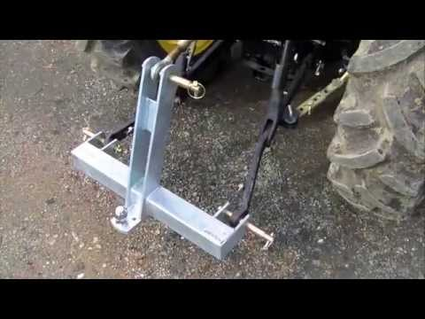 Novaquip 3 point linkage Towbar from Implements Direct