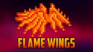Terraria - Flame wings; drop, craft & function