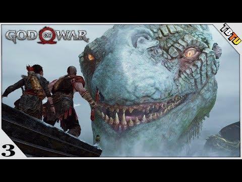 God Of War Walkthrough Gameplay Part 3 - The World Snake And Brok's Brother (God Of War 4)