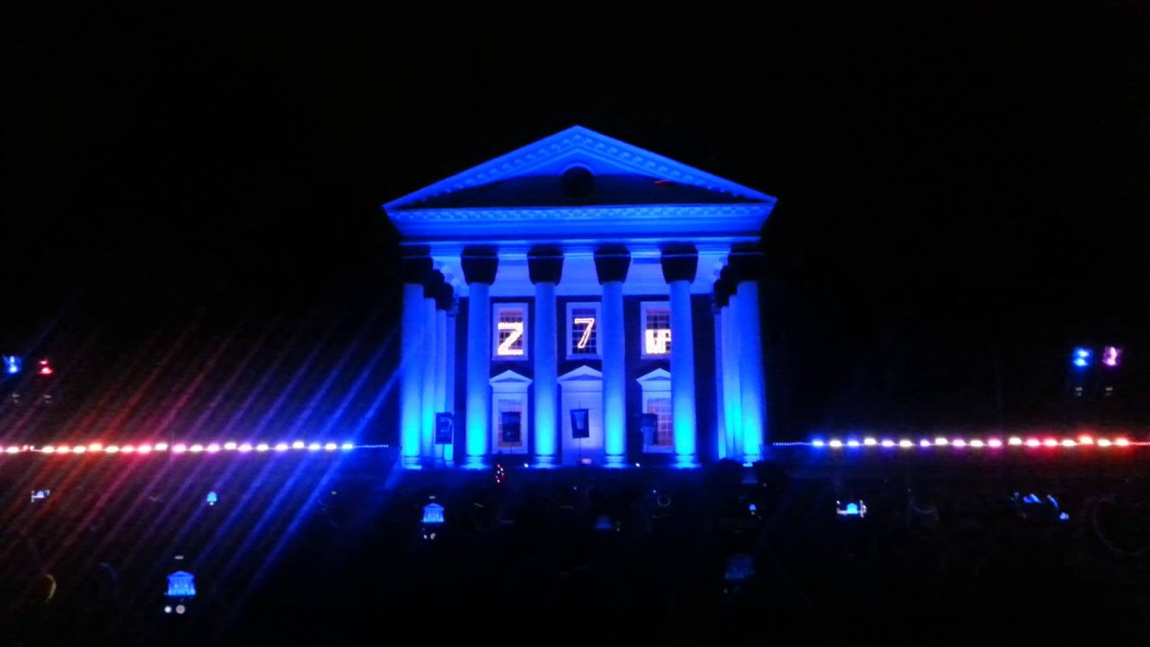 & Lighting of the Lawn at UVa - YouTube