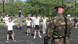 Необычный урок физкультуры в гимназии №1!