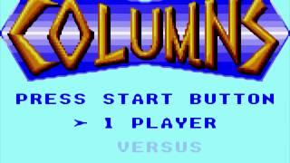 Columns (Europe, USA) (Sega Game Gear) Original Longplay