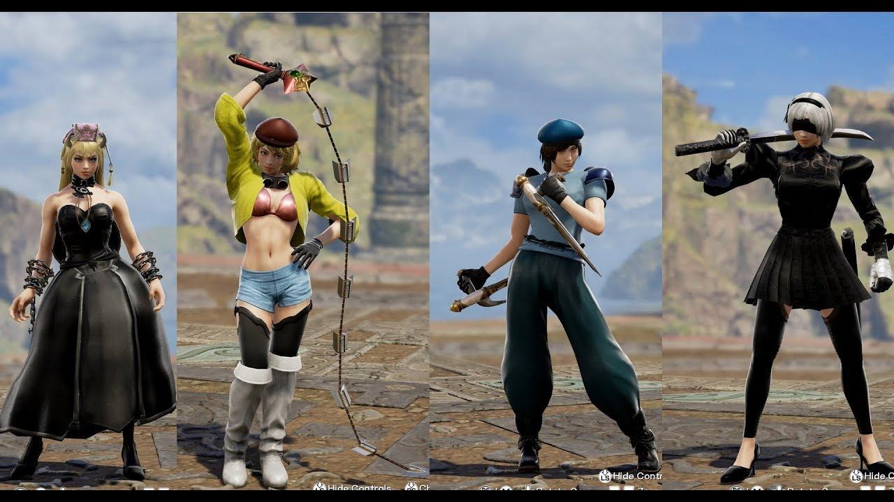 SoulCalibur VI Custom Character Community Edits 4K - Day 3 | N4G