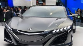 Watch the Acura NSX Concept Debut at the Detroit Auto Show
