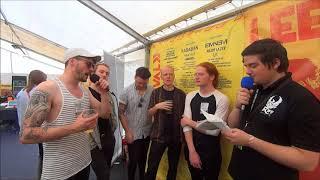 Fizzy Blood - Interview - Leeds Festival 2017