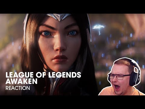 Awaken (ft. Valerie Broussard) | League of Legends Cinematic - REACTION!
