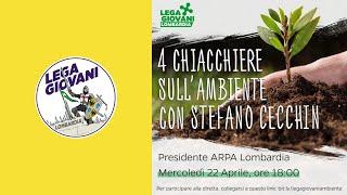 Conferenza Lega Giovani Lombardia - Stefano Cecchin (presidente ARPA Lombardia)