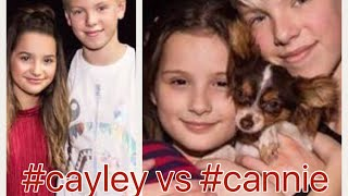 #CAYLEY VS. #CANNIE | who will win?? 💙💚