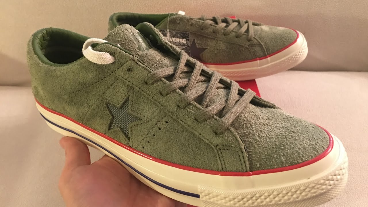 converse one star unboxing