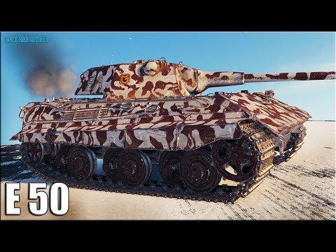 Рекорд по урону на E 50 ✅ World of Tanks лучший бой