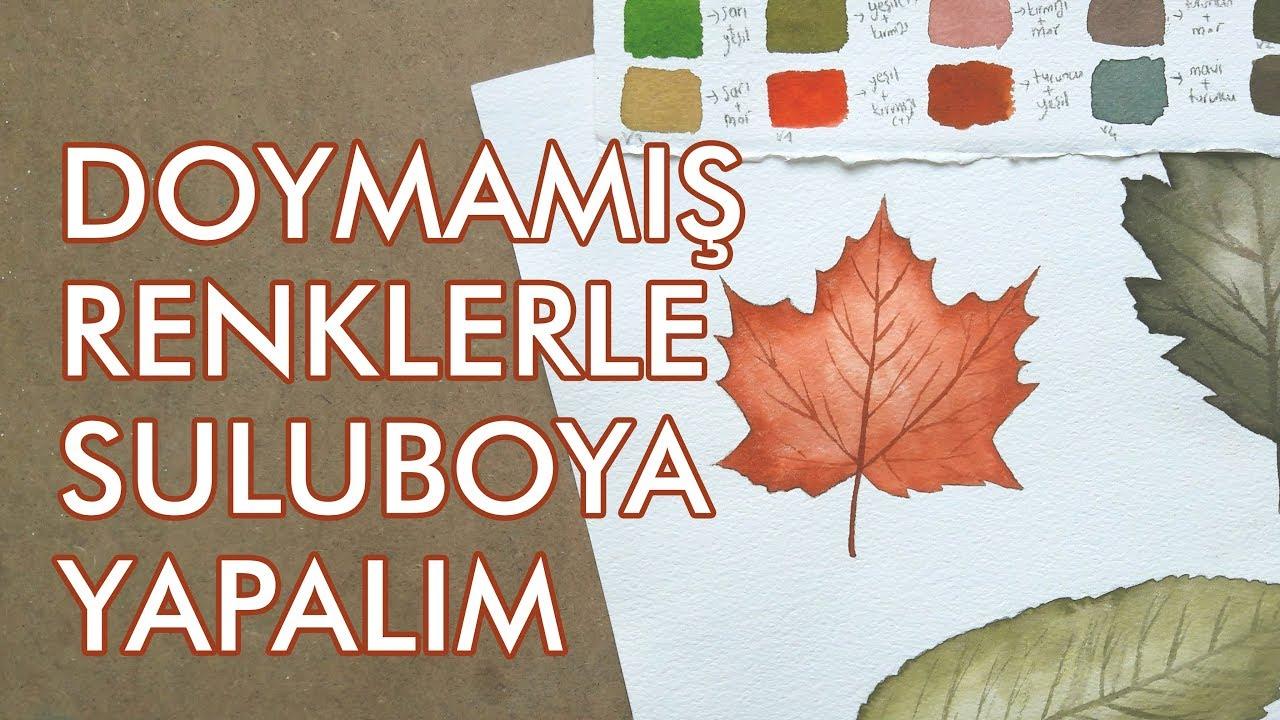 Renk Paletini Genişlet Doymamış Renklerle Sonbahar Yaprakları