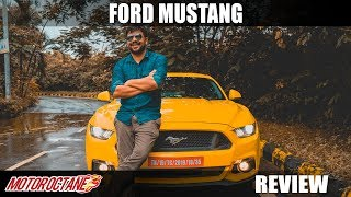 Can't Miss: Ford Mustang Review | Hindi | MotorOctane