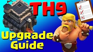 Clash of Clans: TH9 Upgrade Priority List & Guide (JULY 2016) ULTIMATE!!