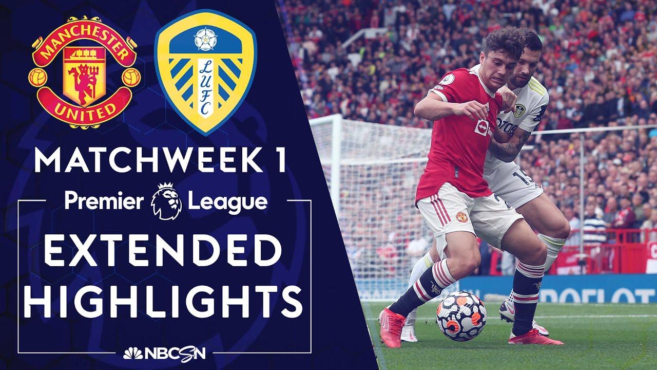 Download Manchester United v. Leeds United   PREMIER LEAGUE HIGHLIGHTS   8/14/2021   NBC Sports