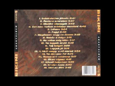 Bikini - Aranyalbum (1996) [FULL ALBUM]