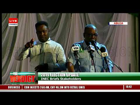 INEC Officially Opens Collation Centre Presidential Election |The Verdict|