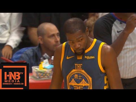 Golden State Warriors vs LA Clippers 1st Qtr Highlights   11.12.2018, NBA Season