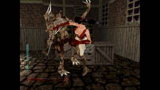 Nightmare Creatures pc gameplay