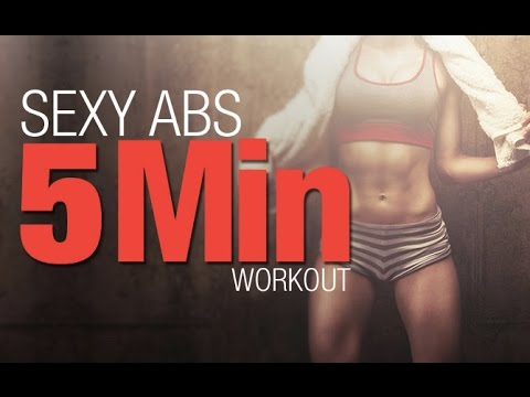 5 Minute Ab Workout (FIVE BEST MOVES!!)