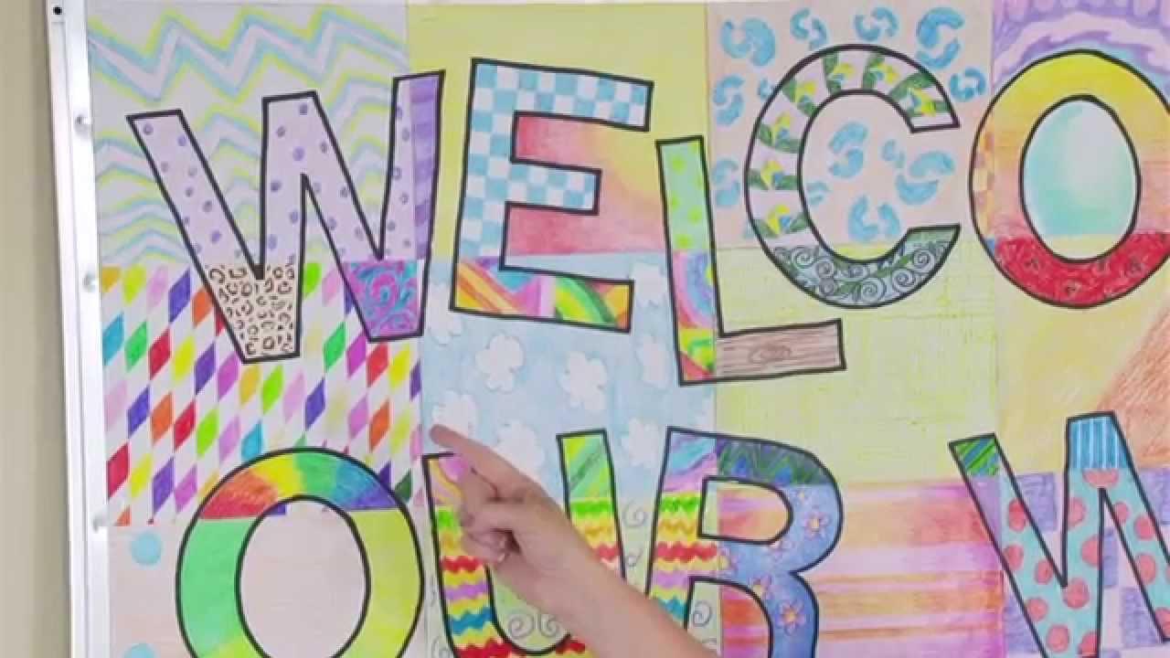 ellison education video series welcome banner bulletin board youtube