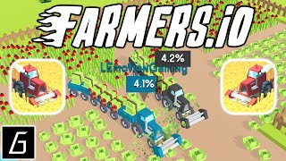 Farmers.io Gameplay - First Records (iOS - Android)