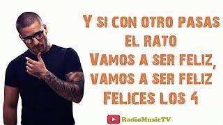 Maluma - Felices los 4 (LETRA/LYRICS) 2017