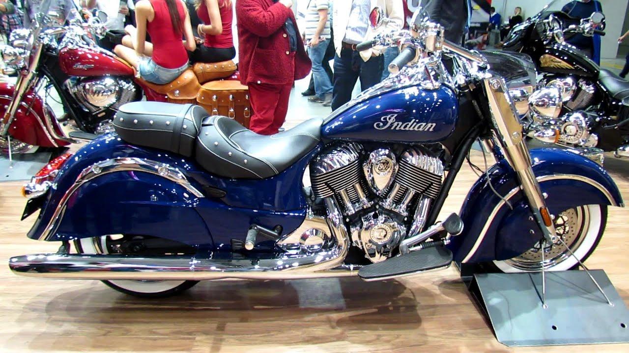 2014 Indian Motorcycle - Indian Chieftain - Walkaround - 2013 ...