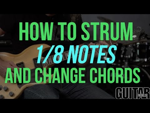 How to Strum 1/8 Notes - Guitar Basics