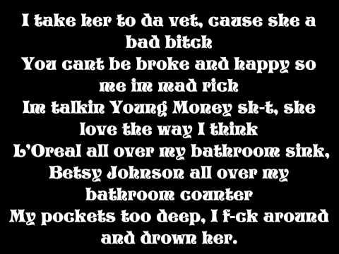 Lil Wayne - Throw It In The Bag (Lyrics on Screen)