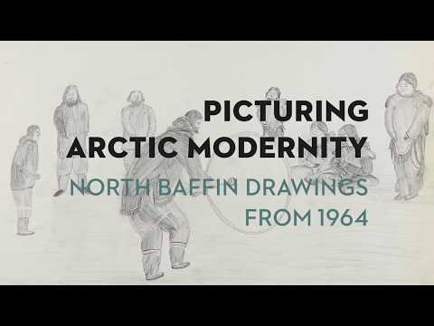 Picturing Arctic Modernity – North Baffin Drawings From 1964