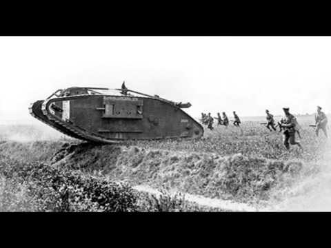La première utilisation des chars (15 septembre 1916)