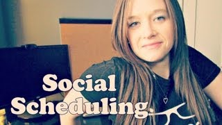 My Social Scheduling Routine with Hootsuite and Buffer App