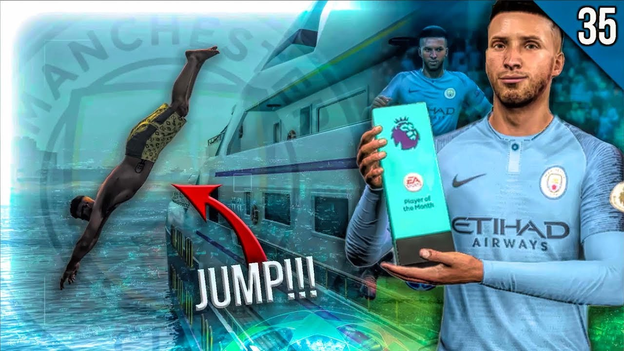 WE JUMPED 50 FEET!! | FIFA 19 Career Mode My Player | Episode #35