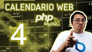Calendario web con PHP y MySQL utilizando fullcalendar (Video 4 - Mostrar el Modal)