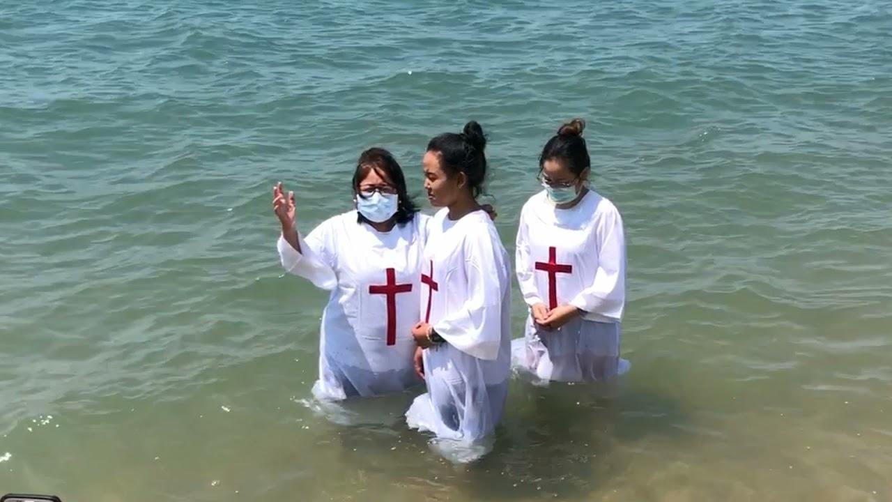 An Amazing Baptism