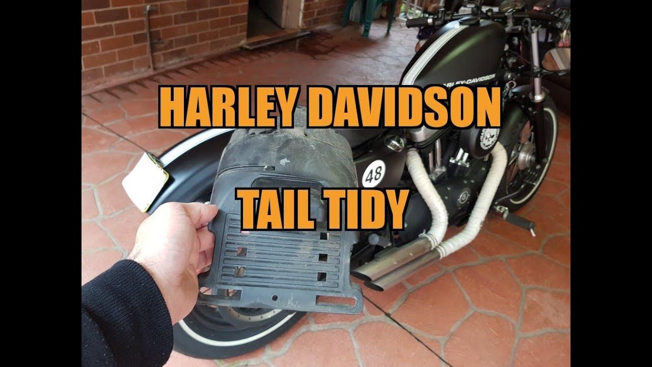 Customaccess Stop Light Harley Model Sportster Tail Light