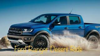 Off-road drive in Desert - Ford Ranger, Saudi Arabia